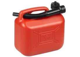 Benzindunk 5 liter - rød