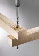 Træbor 12 X 250  mm