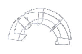 Image of   Slangeholder hvid (lille model)