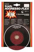 Fiberskiver 115X22  mm - Korn 120 - Meta