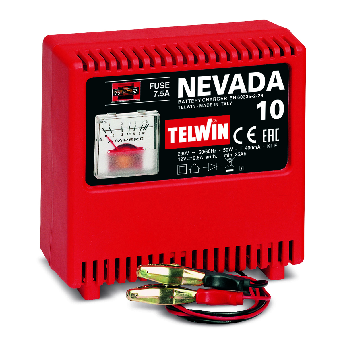 Image of   Telwin batterilader Nevada 10 - 12 volt