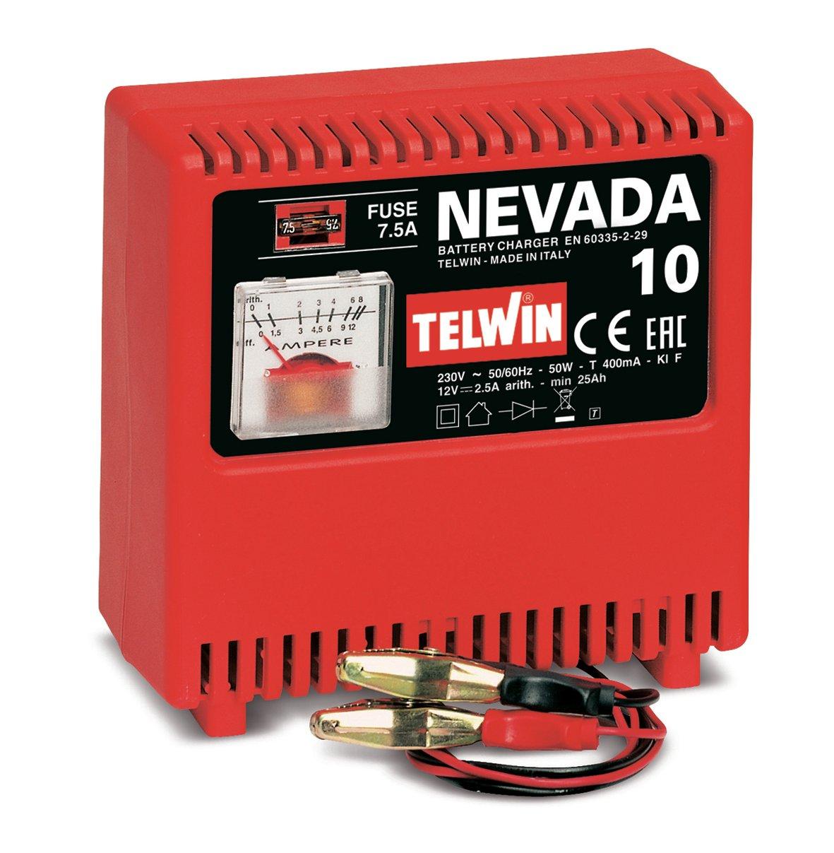 Image of   Telwin batterilader Nevada 10 - 12 volt