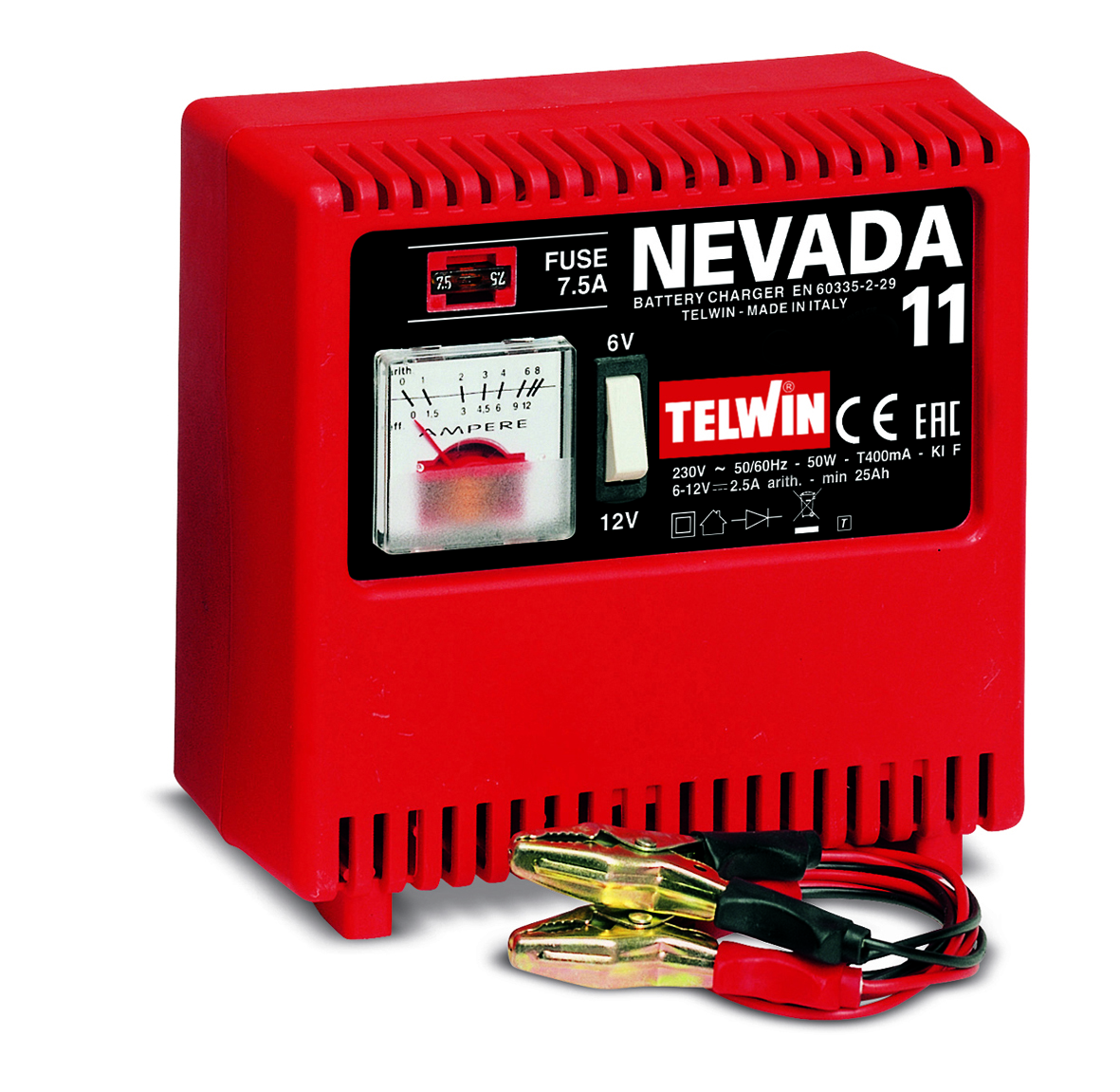 Image of   Telwin batterilader Nevada 11 - 6-12 V
