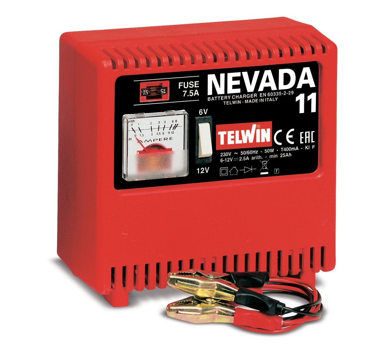 Image of   Telwin batterilader Nevada 11 - 6-12 V