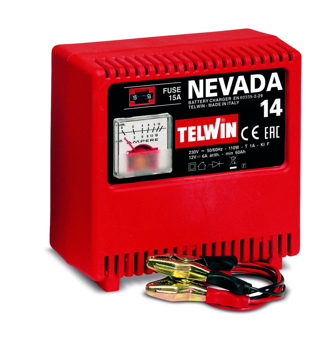 Image of   Telwin batterilader Nevada 14 - 12 Volt