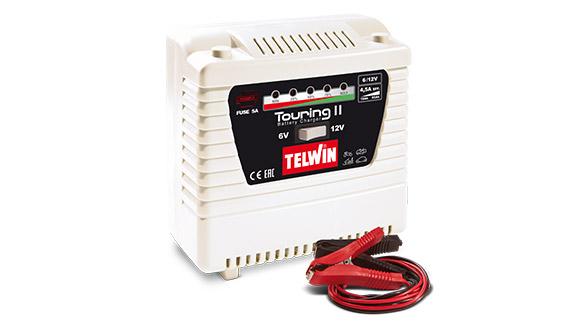 Image of   TELWIN TOURING 11 batterilader 6-12 volt
