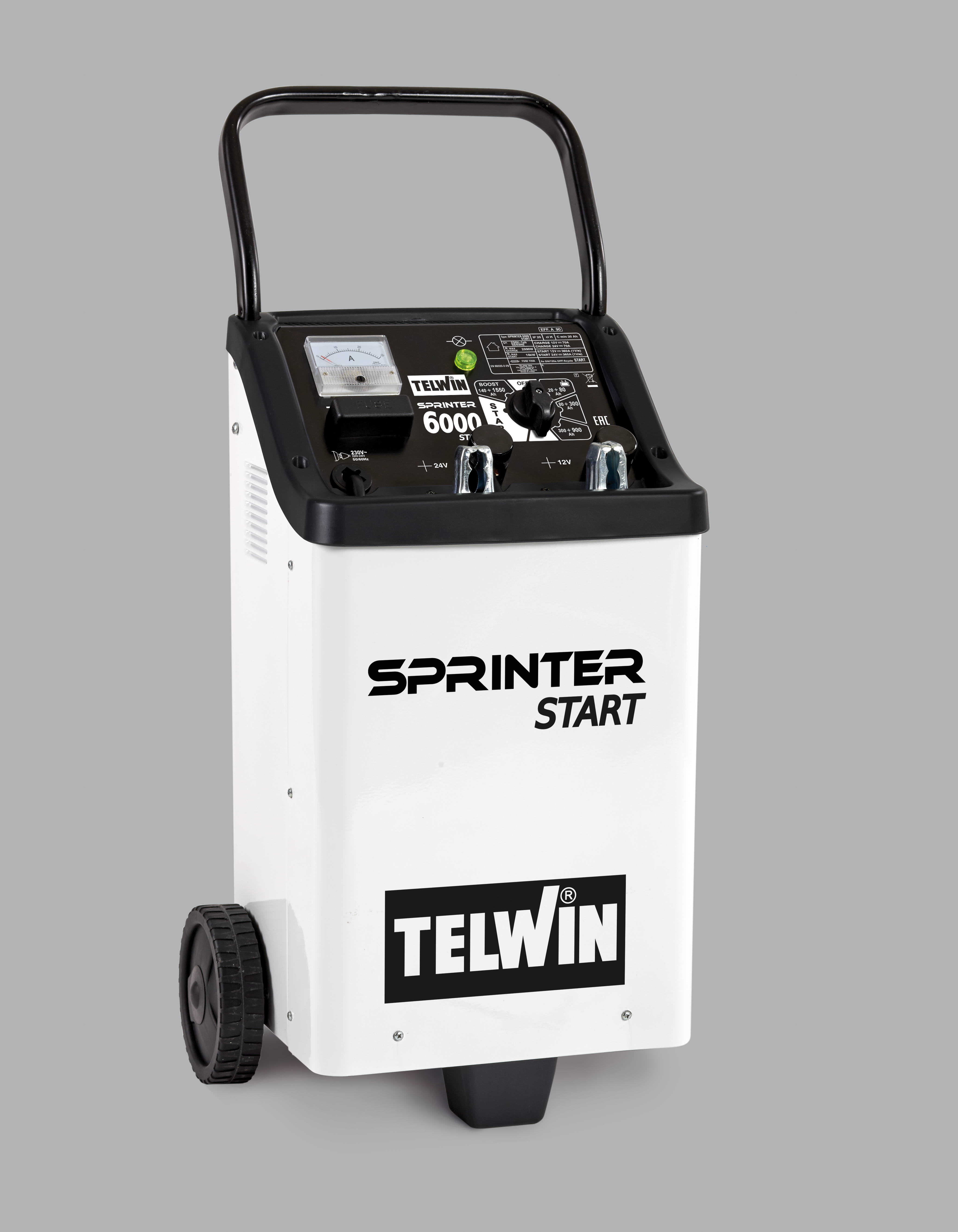 Image of   TELWIN SPRINTER 6000 START 230V 12-24V