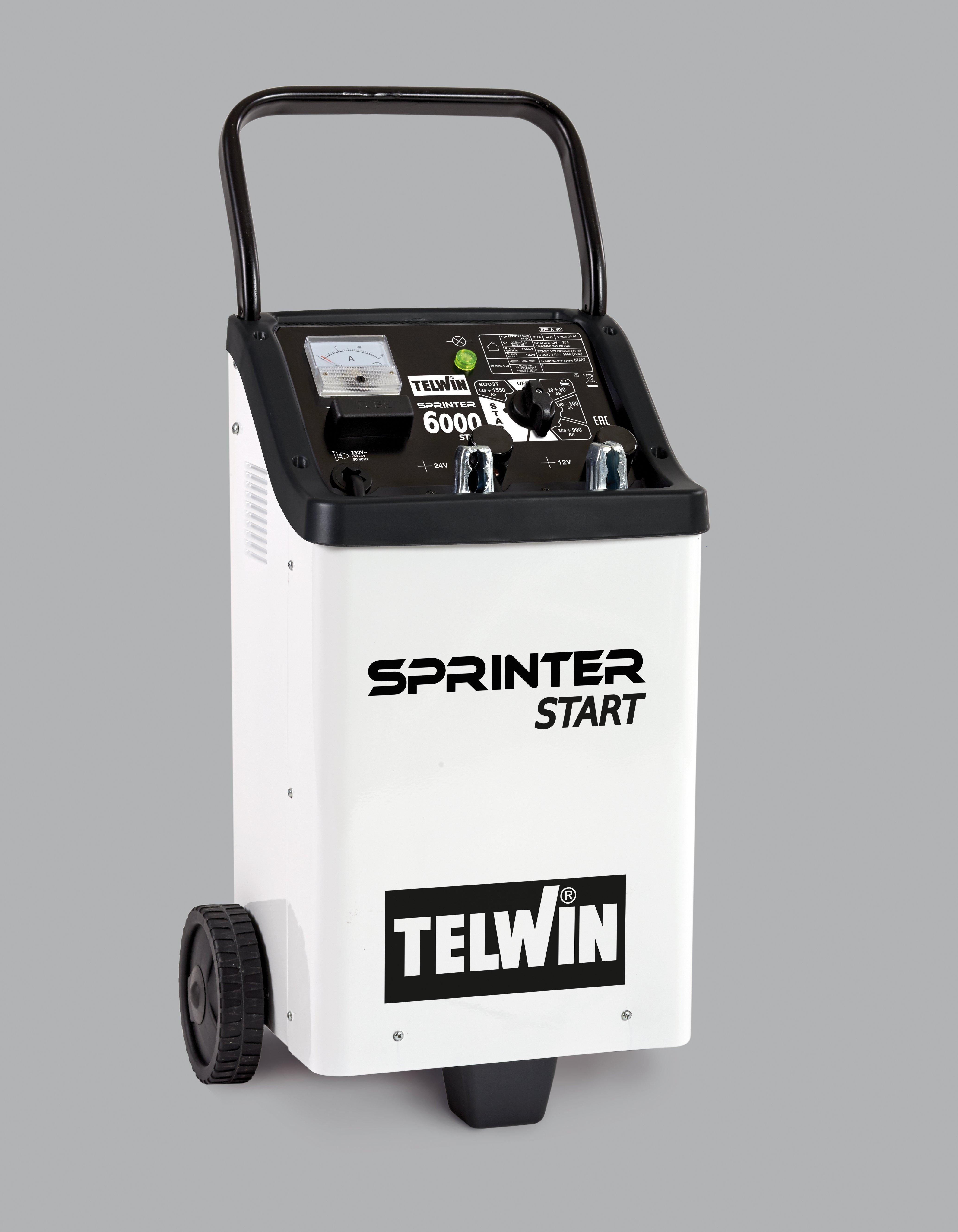 Image of   TELWIN SPRINTER 6000 START 230V 12-24V