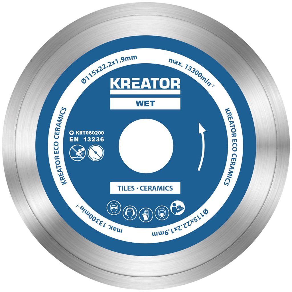 Image of   Diamantklinger til fliser 115 mm - 3 stk