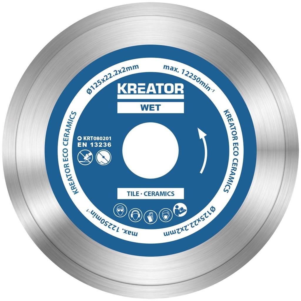 Diamantklinger til fliser 125 mm - 3 stk