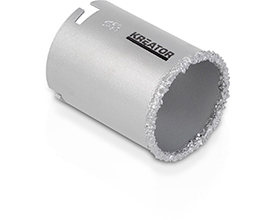 Hulsav hårdmetal Ø 53 mm til sten/fliser