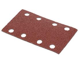 Velcro sandpapir 80 x 133 mm - korn 80