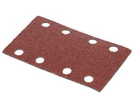 Velcro sandpapir 80 x 133 mm - korn 120