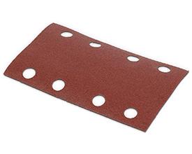 Velcro sandpapir 80 x 133 mm - korn 180