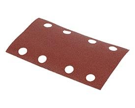 Velcro sandpapir 80 x 133 mm - korn 240