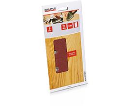 Velcro sandpapir 93  x 187 mm - korn 80