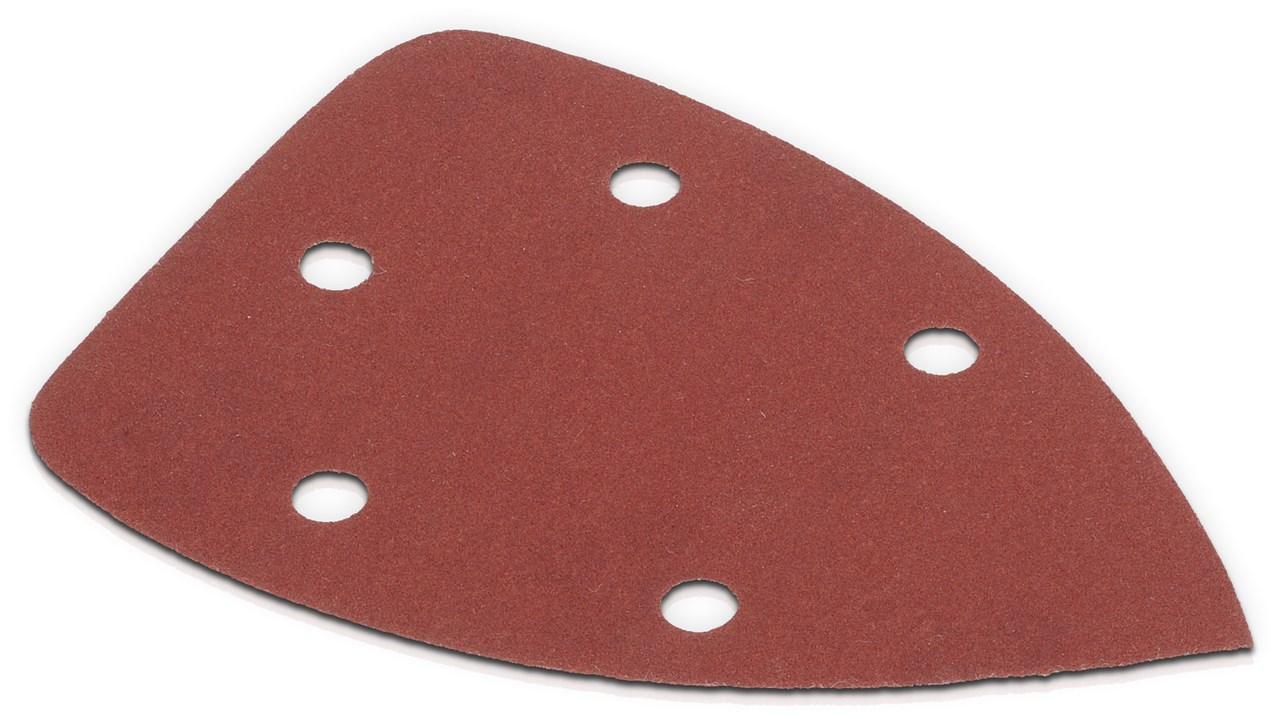 Velcro sandpapir til slibemus - korn 180