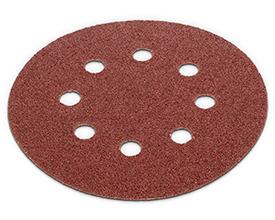 Velcro sandpapir Ø 125 mm - korn 60