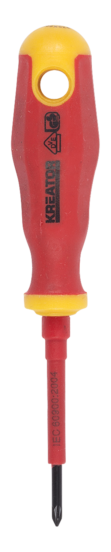 VDE Skruetrækker PZ0 x 60 mm