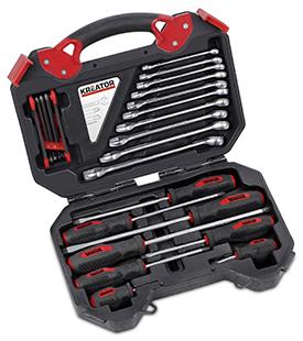 Værktøjssæt 26 dele i kuffert