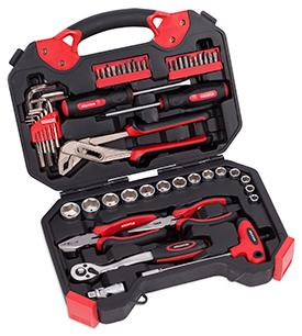 Værktøjssæt 52 dele i kuffert