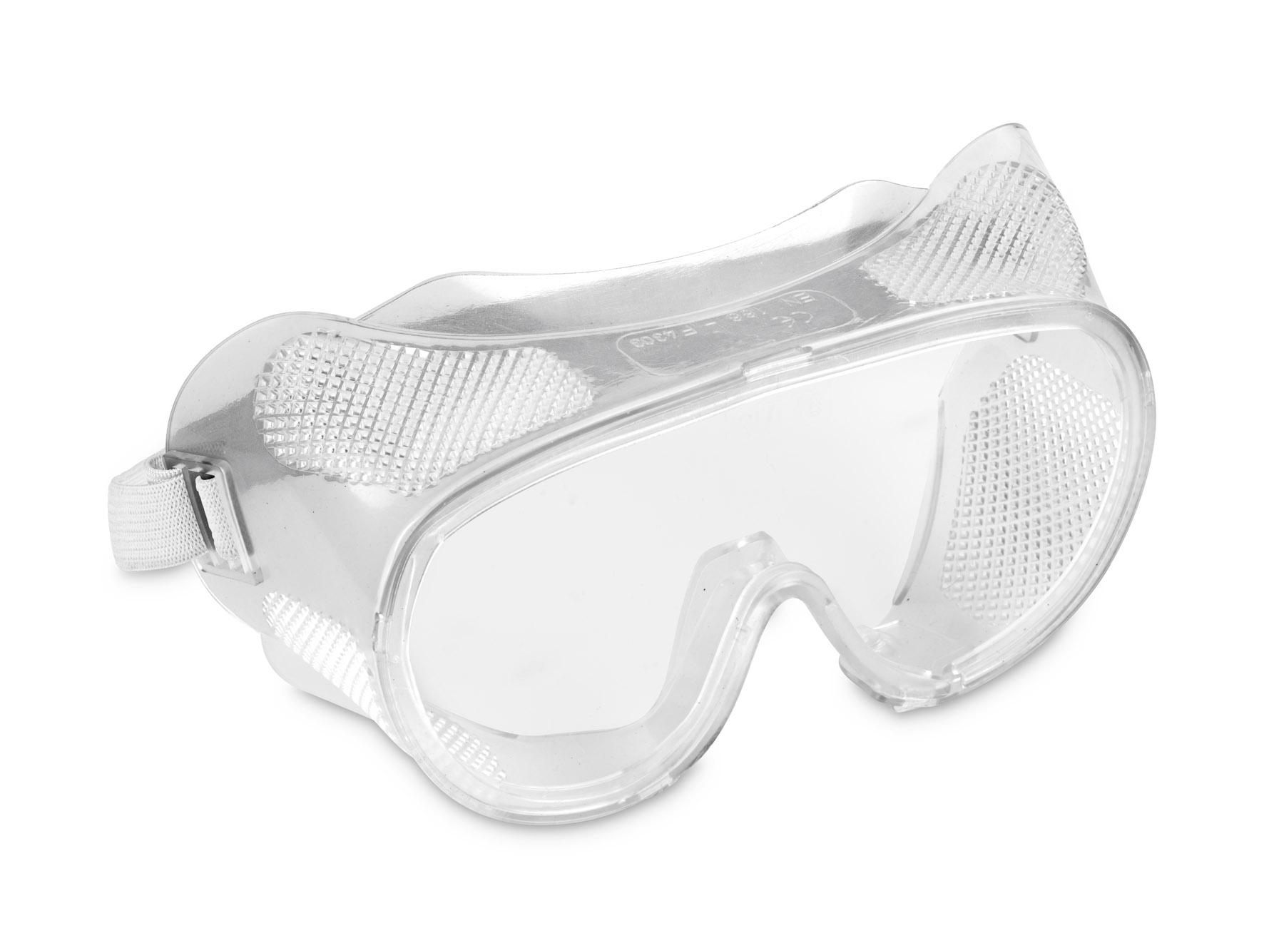 Beskyttelsesbriller klar og dugfri