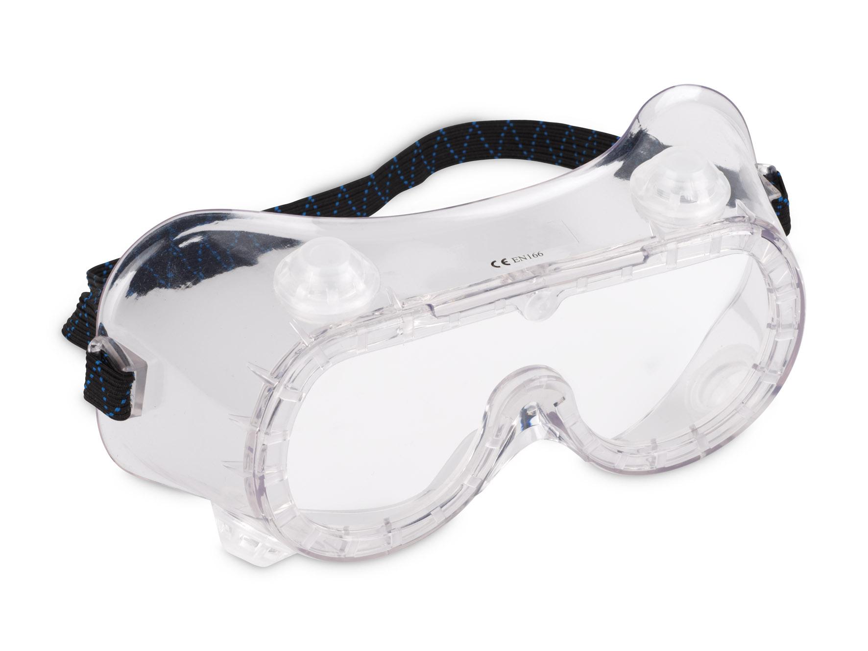 Beskyttelsesbriller med ventil, dugfri