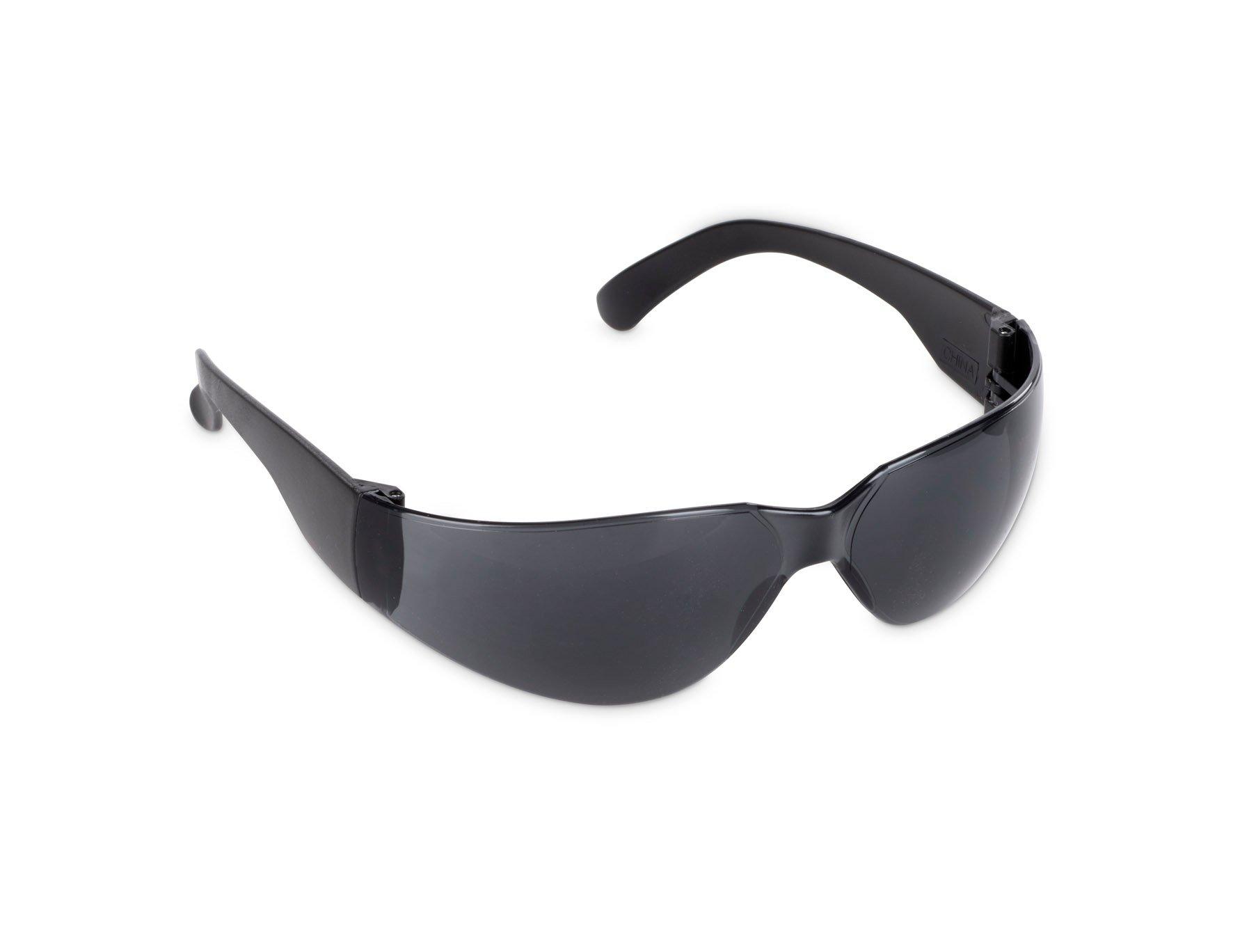 Beskyttelsesbriller UV ridsefri - grå
