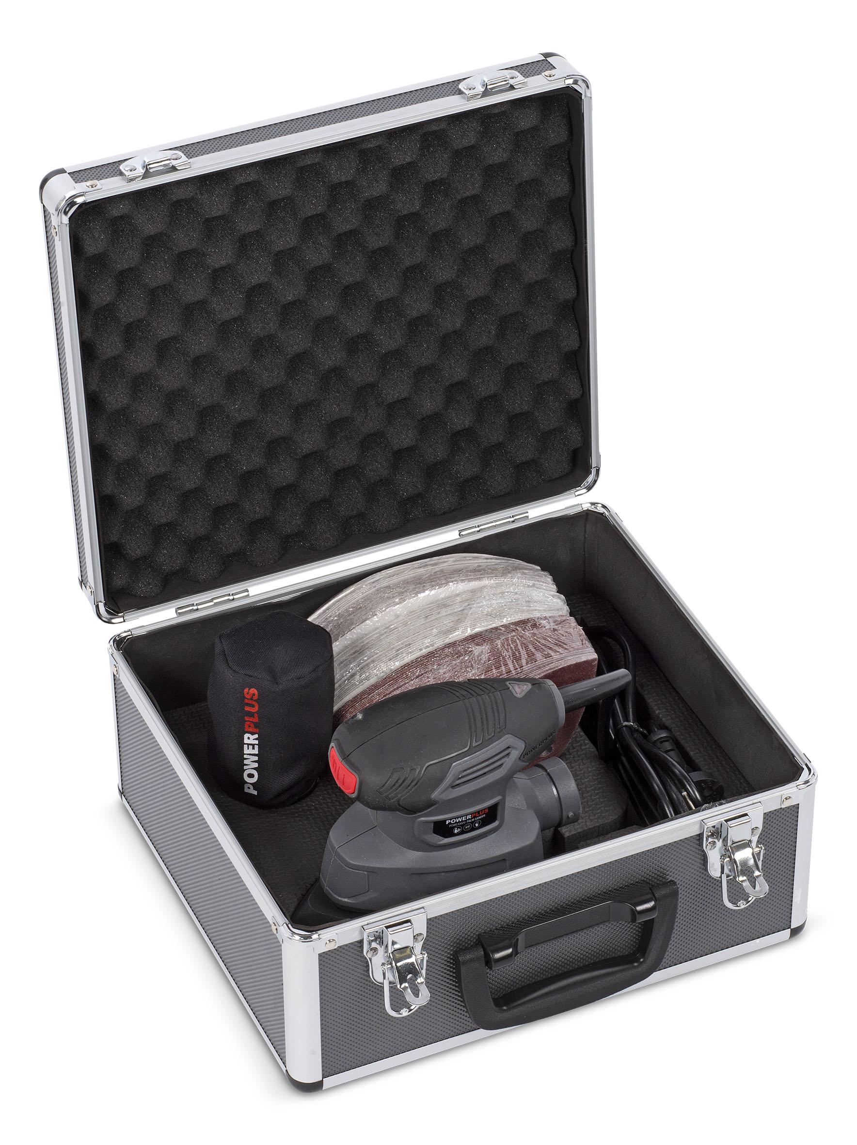 Image of   Slibemus 140 Watt i kuffert med 100 stk.