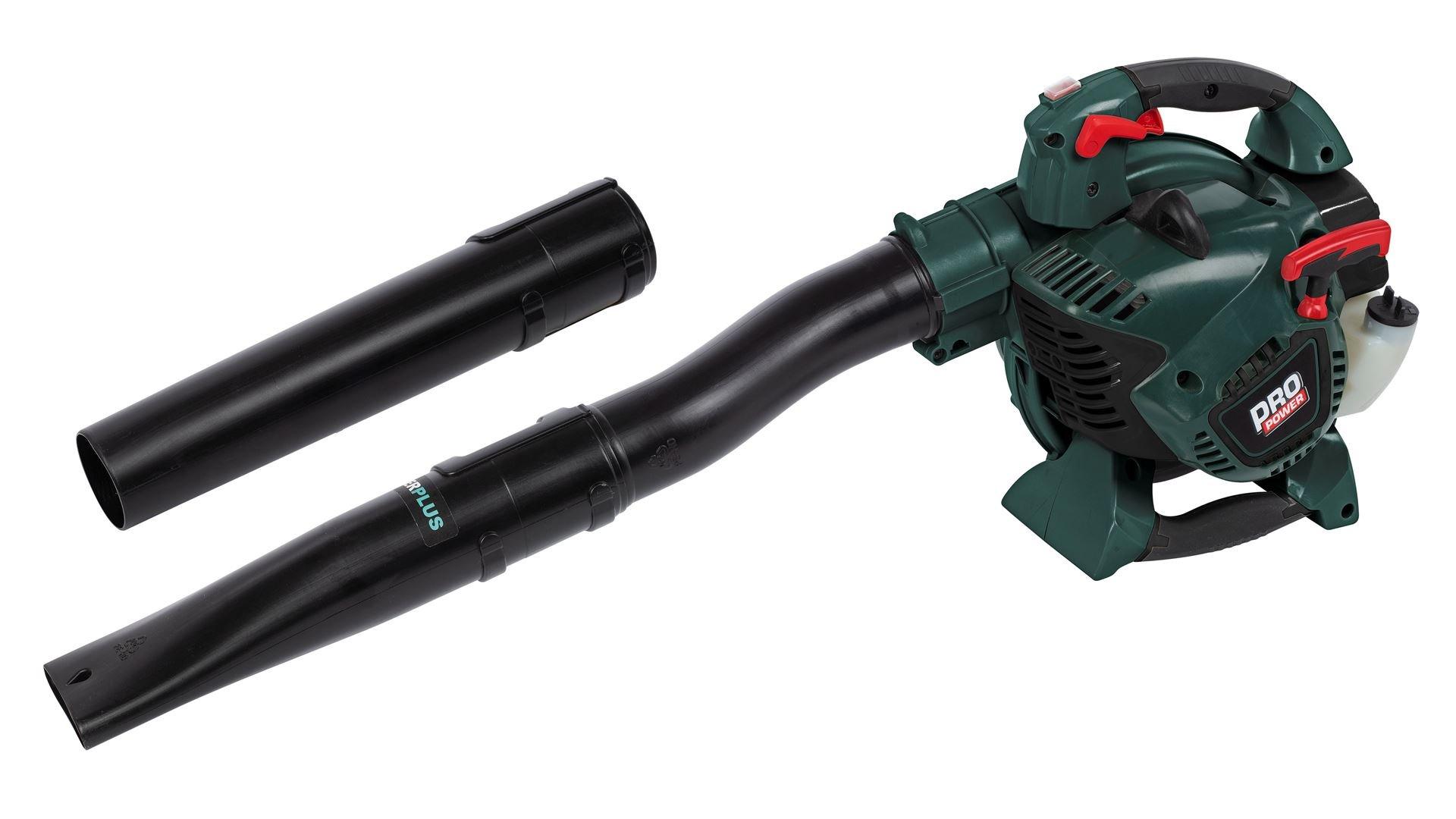 Image of   POWPG60140 Benzin løvblæser og løvsuger 27.6 cc