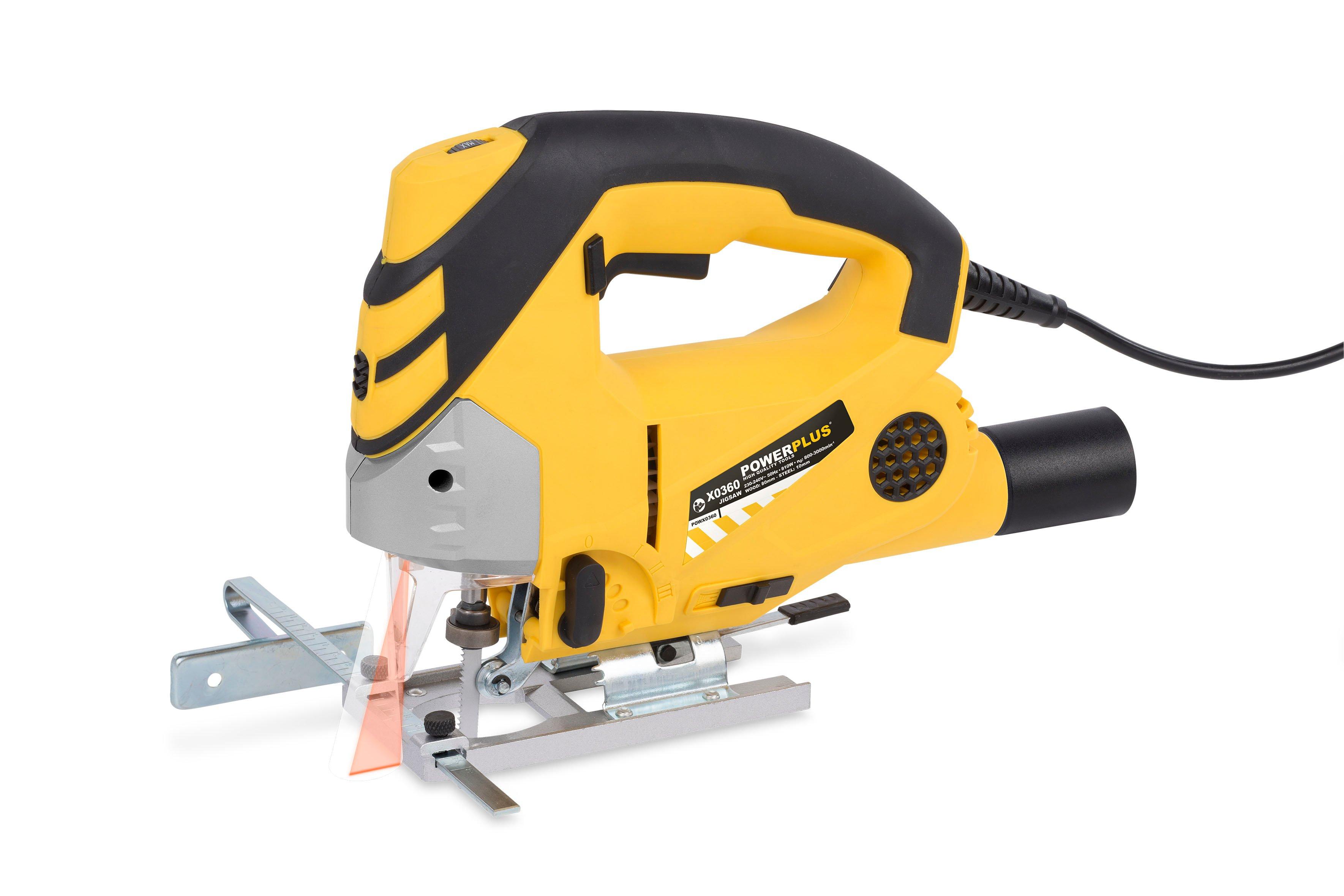 Image of   Stiksav 800 Watt med laser