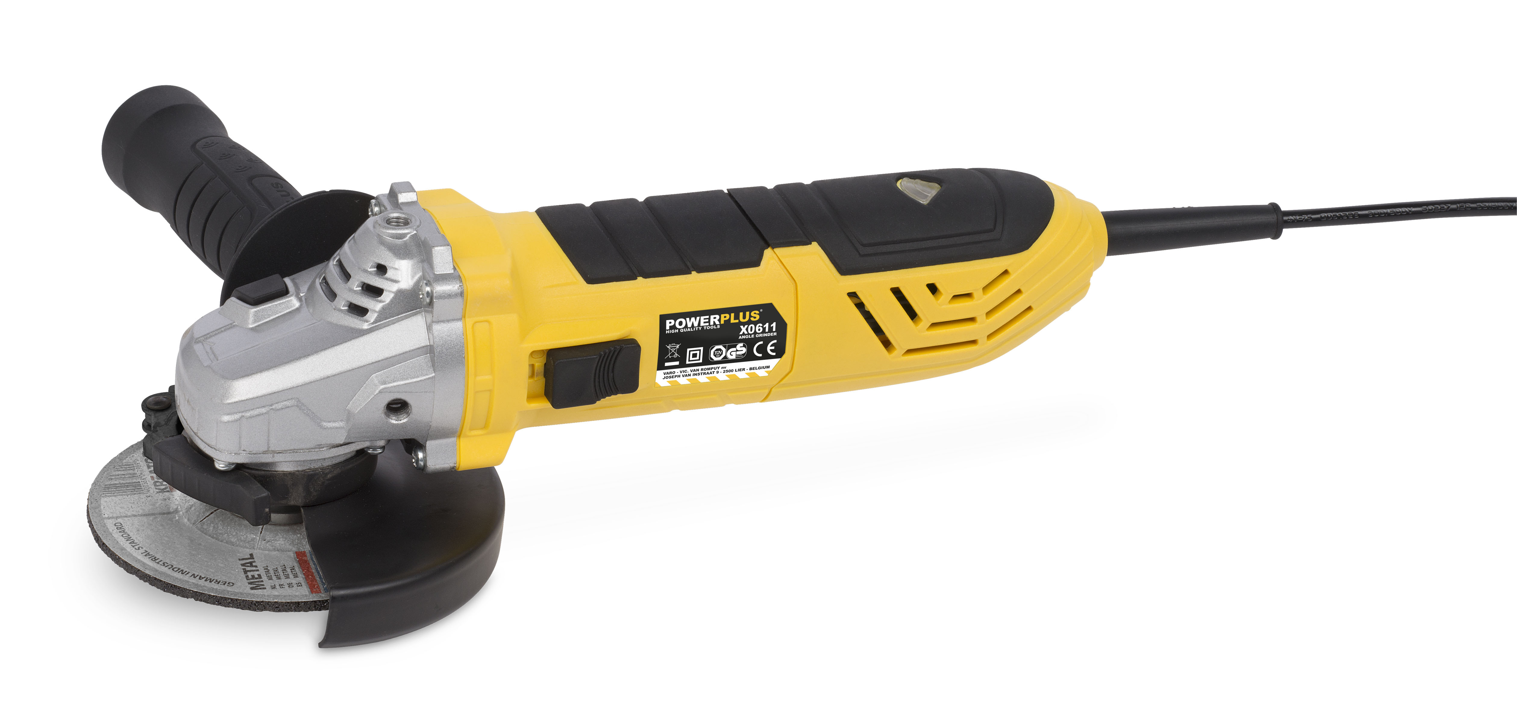 Vinkelsliber 900 Watt Ø 115 mm