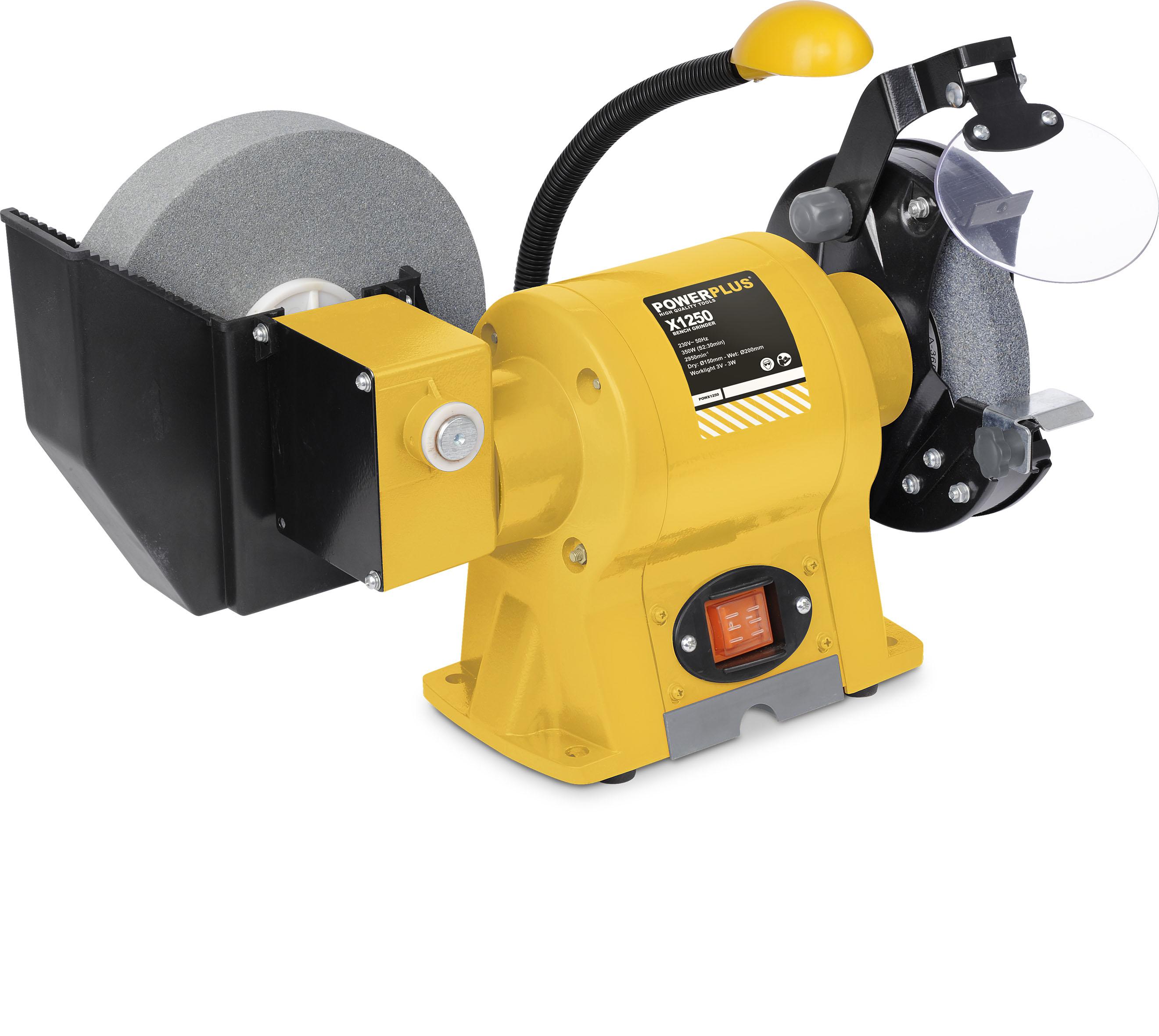 Tør og våd sliber 150/200 mm 350 watt