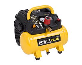Kompressor 1,5 hk, 6 liter - oliefri