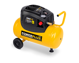 Kompressor 1,5 hk, 24 liter - oliefri