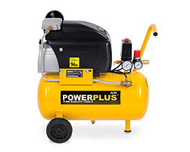 Kompressor 1,5 hk, 24 liter - oliesmurt