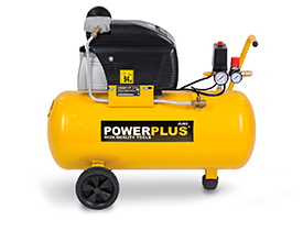 Kompressor 2 hk, 50 liter - oliesmurt