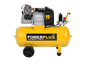 Kompressor 3 hk, 50 liter -  oliesmurt