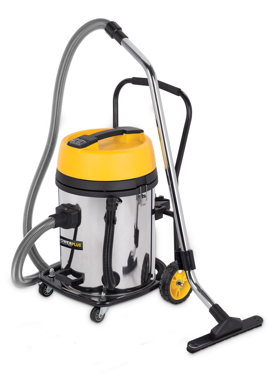 Støvsuger våd/tør 2x1200 watt