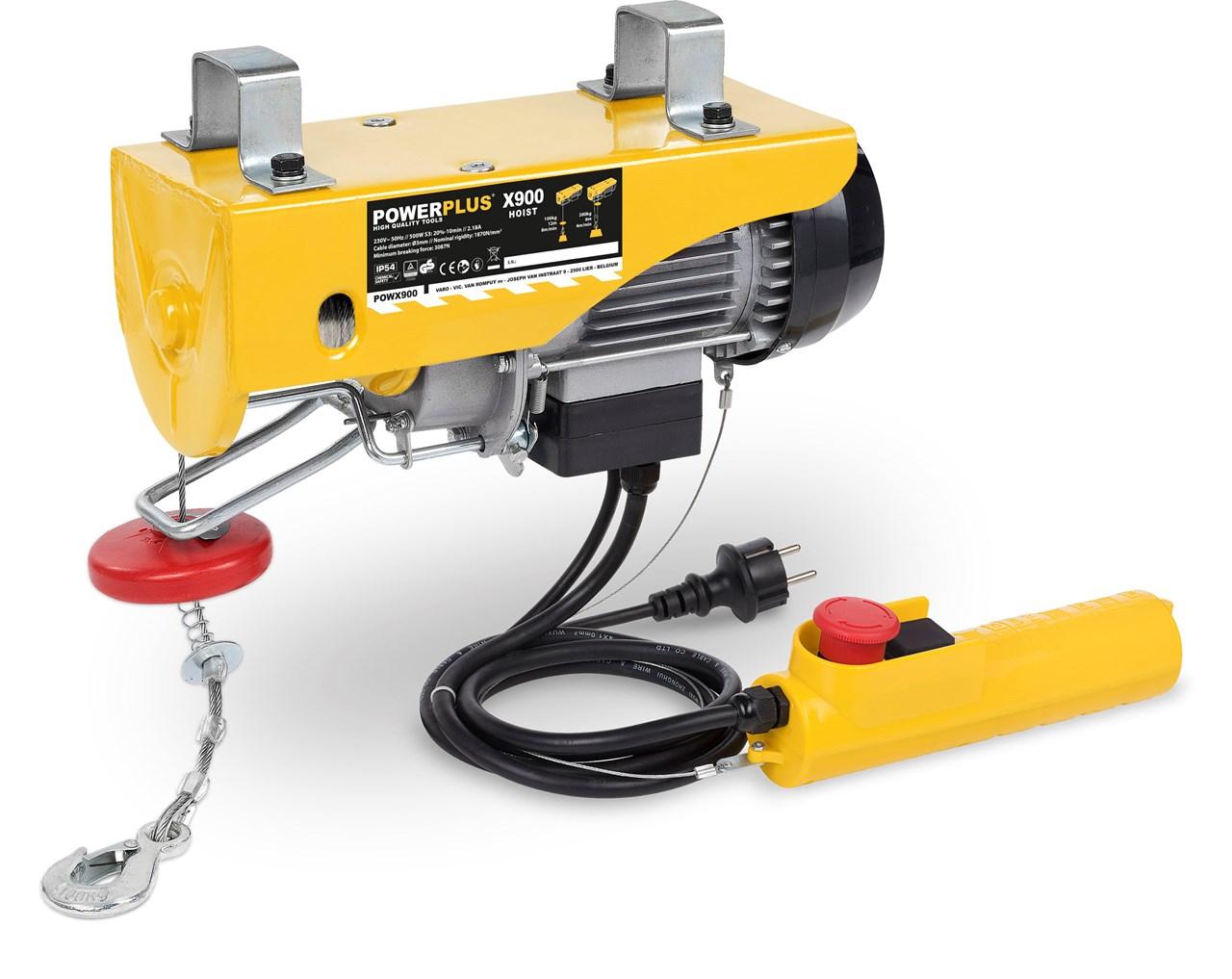 Image of   El trækspil 500 watt - 100/200 kg