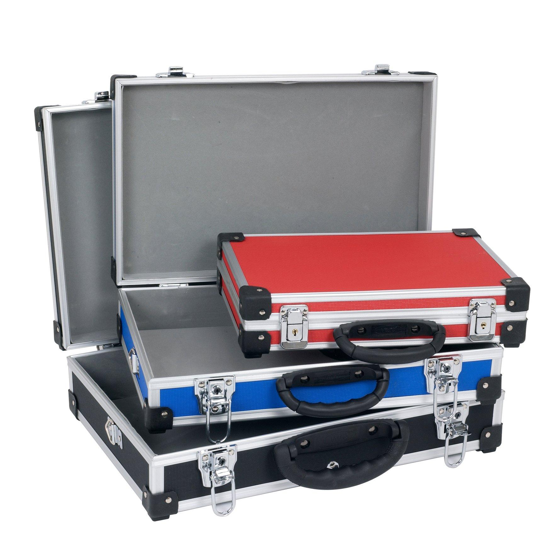 Aluminiums kuffertsæt 3 dele