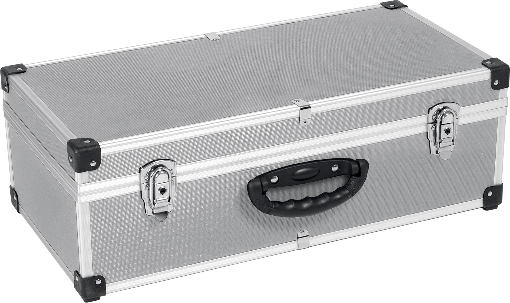 Aluminium kuffert til 80 cder