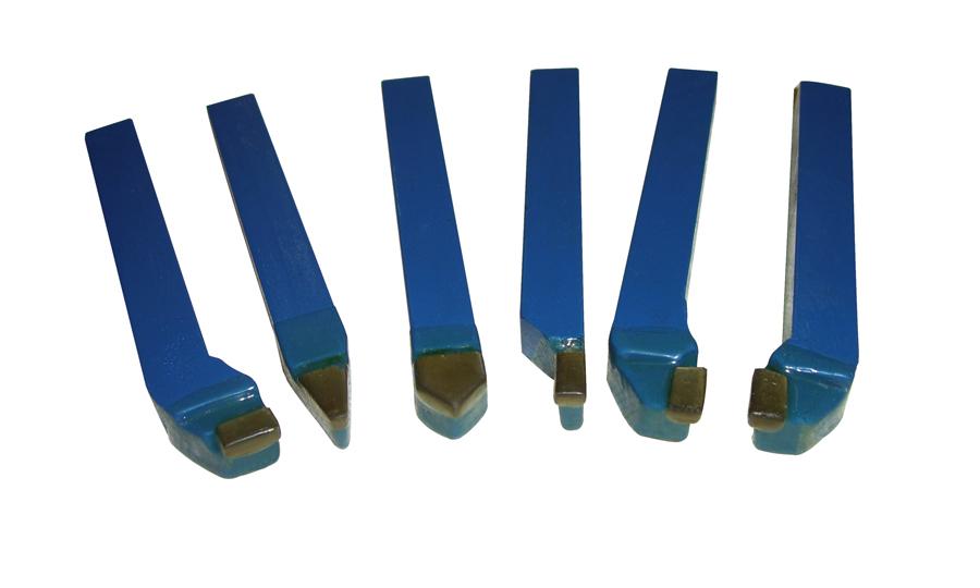 Drejestålsæt Holzmann 12mm 6 stk hårdmetal