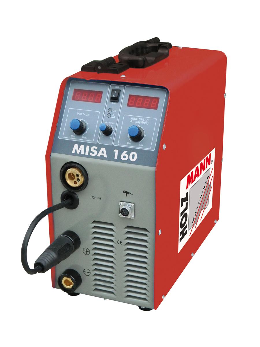 MISA160 MIG/MAG Elektrodesvejser Holzmann