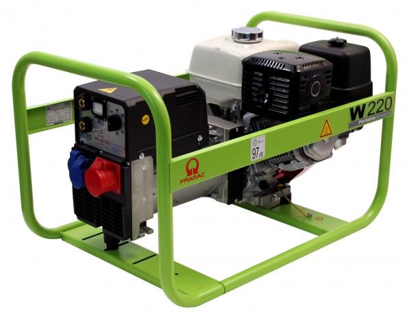 W220 TDC Pramac svejse generator - lydsvag