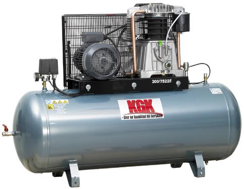 Image of   300/5522 Værkstedskompressor Kgk