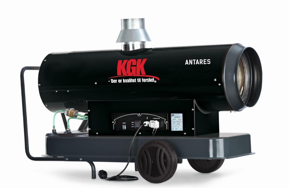 Varmekanon med skorsten KGK Antares 30
