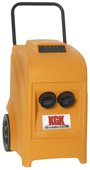 Affugter m/pumpe og 2 x rørafgang 40 Ltr KGK