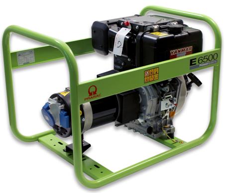 Image of   Generator E6500 SYHDI diesel