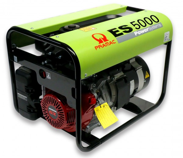Image of   Generator ES5000SHHPI 230v, 11 L. tank